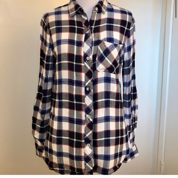 🆕Kenneth Cole Reaction Soft Plaid Flannel Shirt